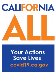 Logo for California For All, a resource for coping with coronavirus stress